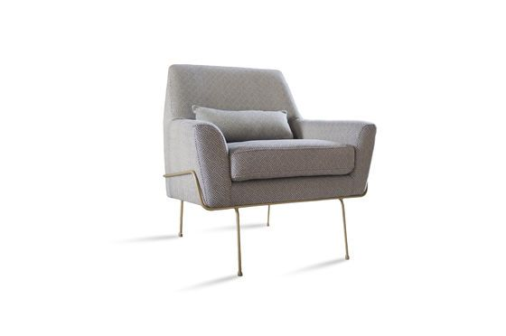 Lounge armchair Hilda Clipped