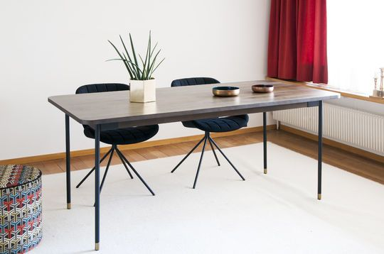 Lübeck rectangular dining table