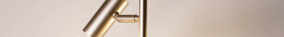 Material Details Lubeck Retro floor lamp