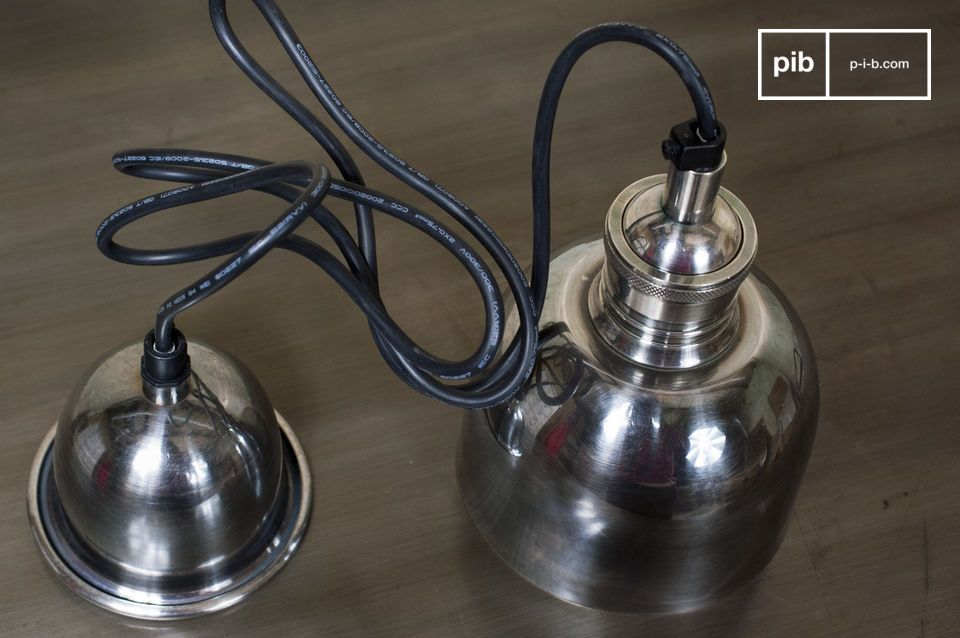 A pendant light with the charm of the vintage style