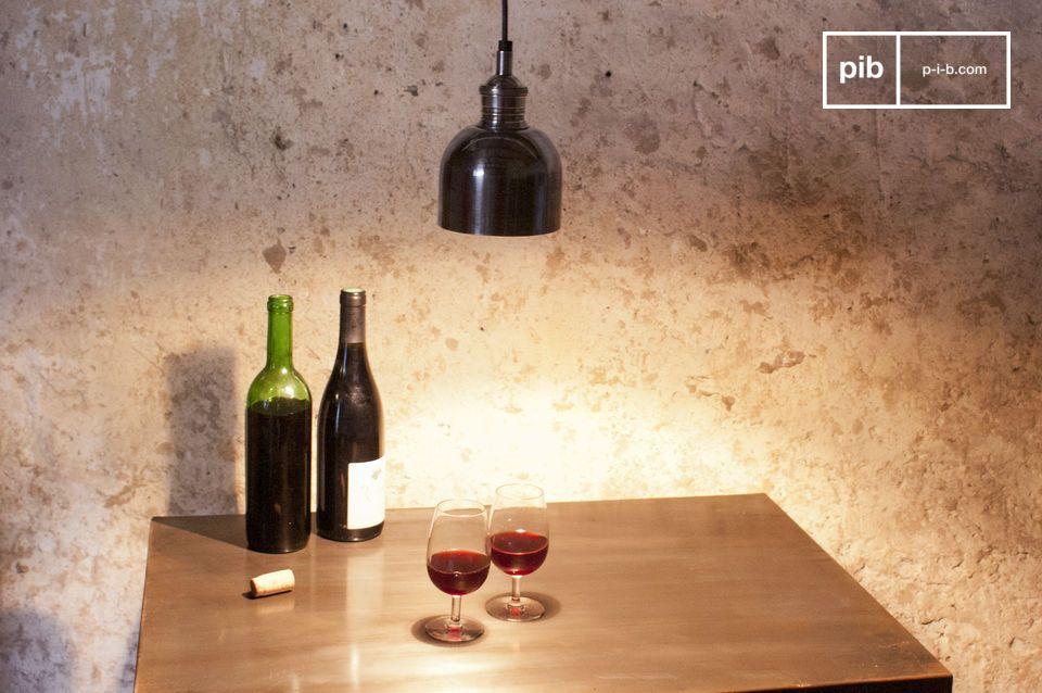 A small pendant light to enlighten a bedhead, a bar or table