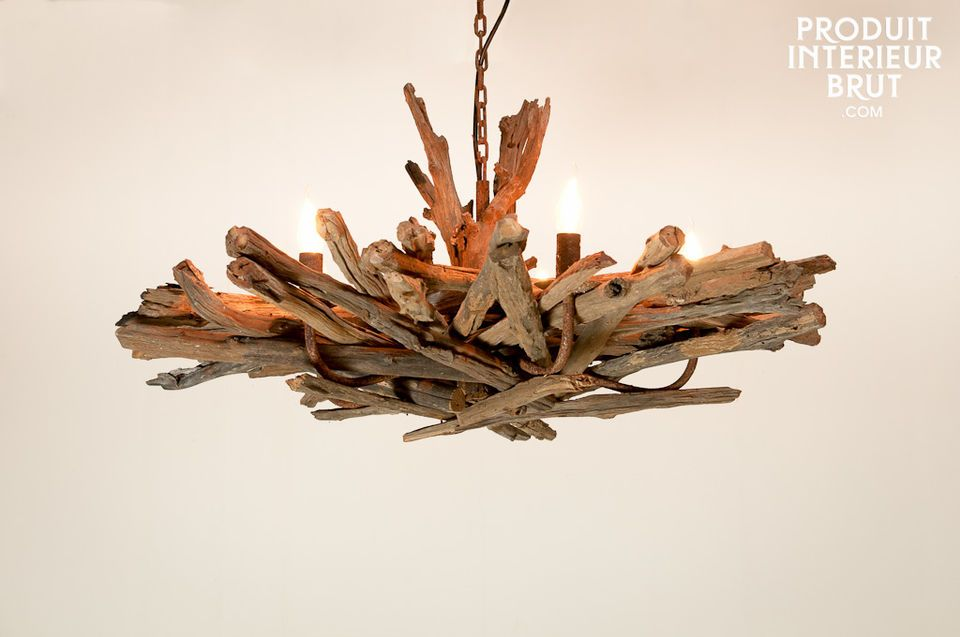 A natural and original light that will add character to your room