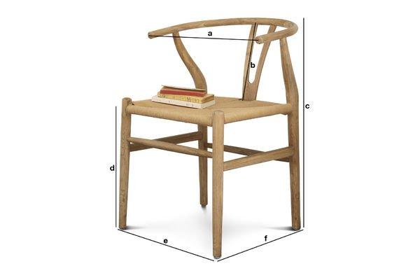 Product Dimensions Mänttä chair