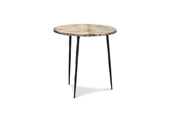 Marble side table Vilma Clipped