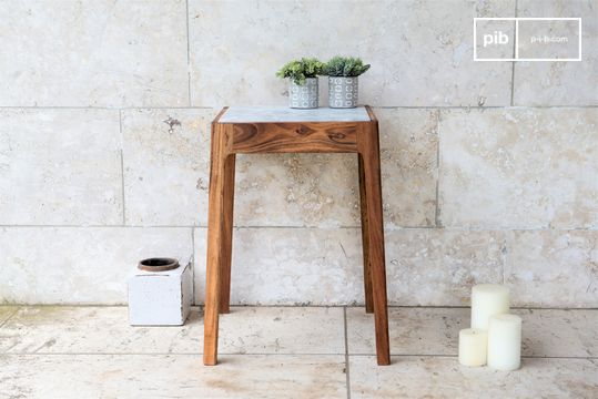 Marmori Marble End Table