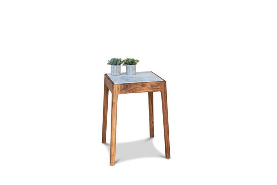 Marmori Marble End Table Clipped