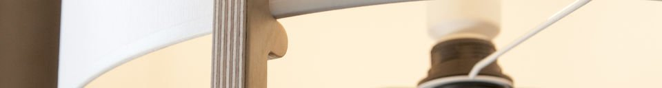 Material Details Maspo standard lamp