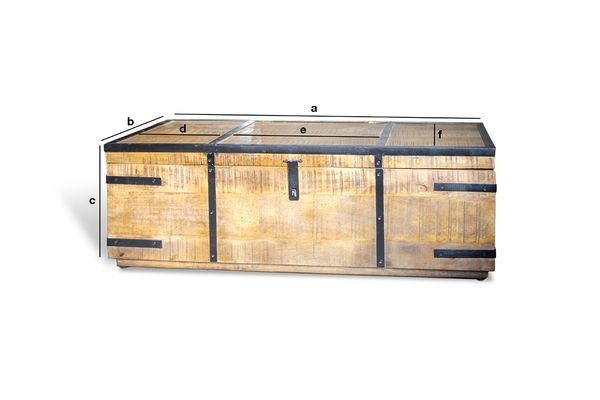 Product Dimensions Mayfair Storage Chest