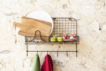 Melina wall shelf unit
