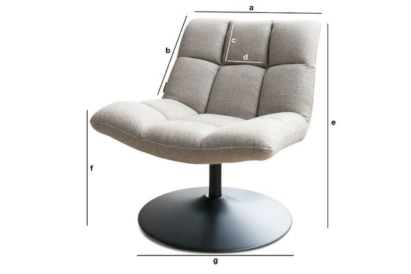 Product Dimensions Mesh lounge chair