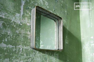 Metal mirror Olonne
