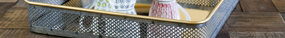 Material Details Metal mirror Olonne