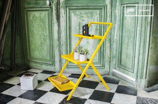 Metal shelf Ladder Leffie