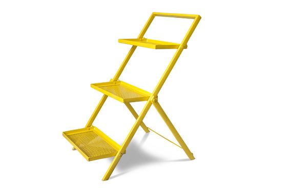 Metal shelf Ladder Leffie Clipped