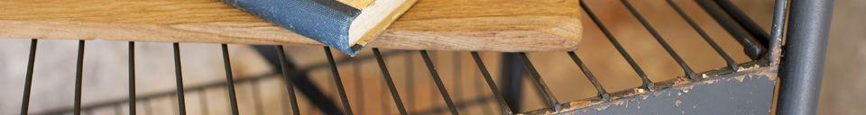 Material Details Metal shelf Mirage