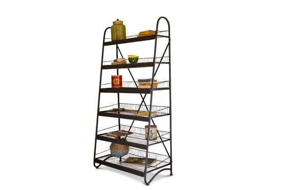 Metal shelf Mirage Clipped