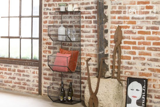 Metallic shelves Harlem