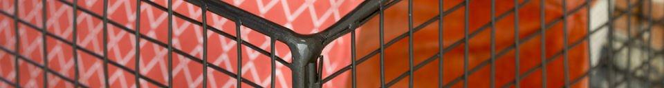 Material Details Metallic shelves Harlem