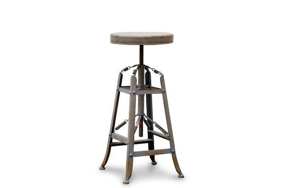 Metallic stool bar Marais Clipped