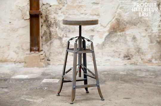 Metallic stool bar Marais