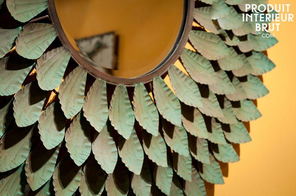 Large mirror 100% metal