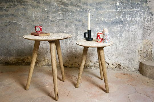 Minelle trundle Table