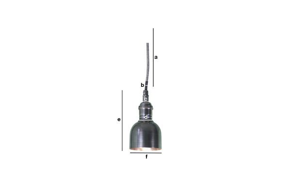 Product Dimensions Mini bell pendant