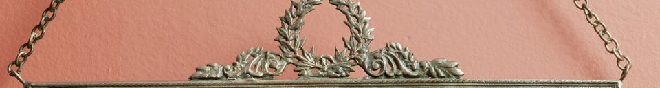 Material Details Mirror Flèche de Bronze