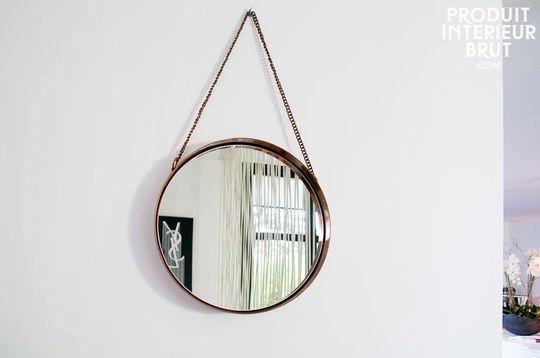 Mirror Lena round