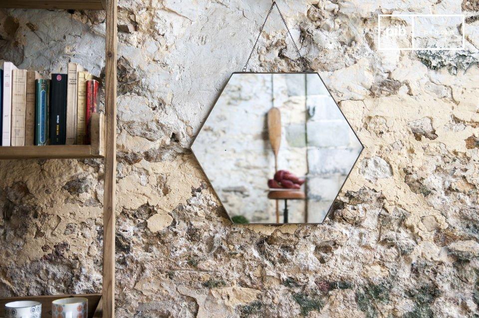 Mirror Solliès-Pont hexagonal