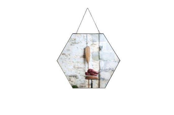 Mirror Solliès-Pont hexagonal Clipped