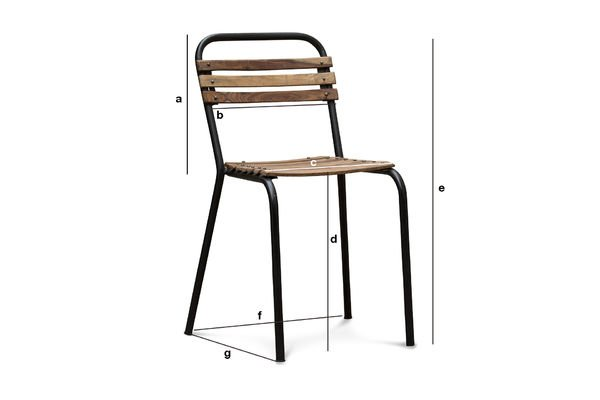 Product Dimensions Mistral Chair