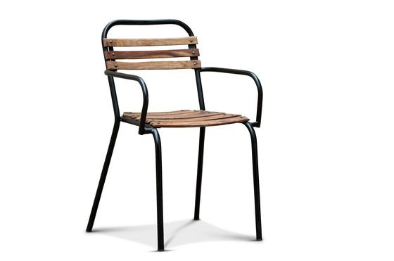 Mistral chair with armrests Clipped