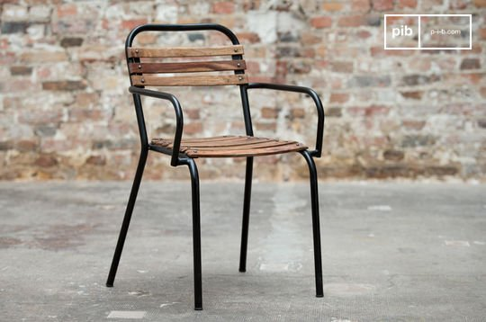 Mistral chair with armrests