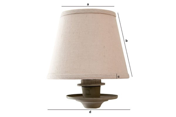 Product Dimensions Mistral lampshade