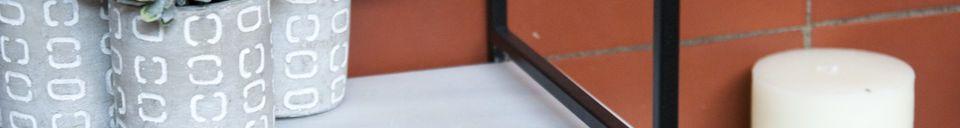 Material Details Modular Bridget marble shelf