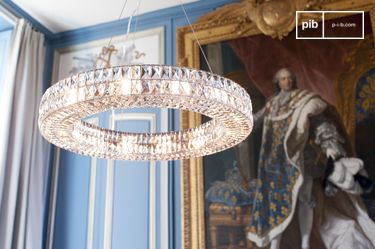 Monte Carlo Glass Chandelier