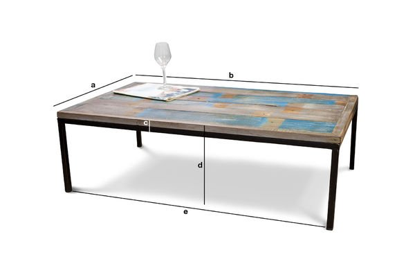 Product Dimensions Moriz coffee table
