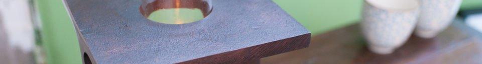 Material Details Motown candleholder