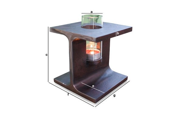 Product Dimensions Motown candleholder