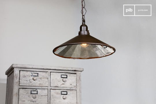 Multi-facetted pendant light