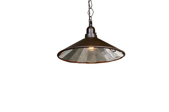 Multi-facetted pendant light Clipped