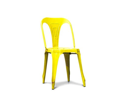 Multipl's chair antique yellow Clipped