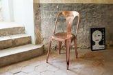 Multipl's Chair Vintage copper-coloured
