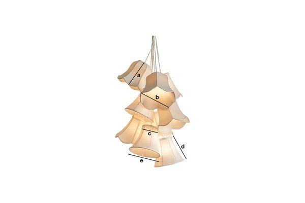 Product Dimensions Mümmi pendant light