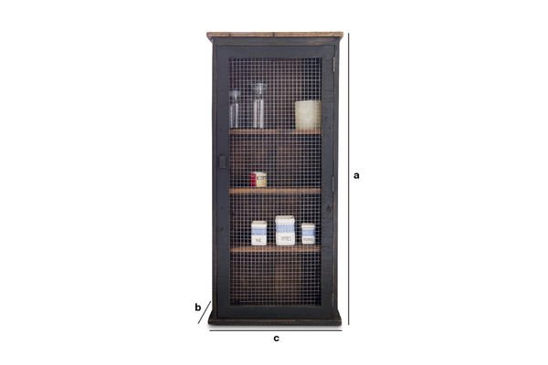 Product Dimensions Myers wired cabinet