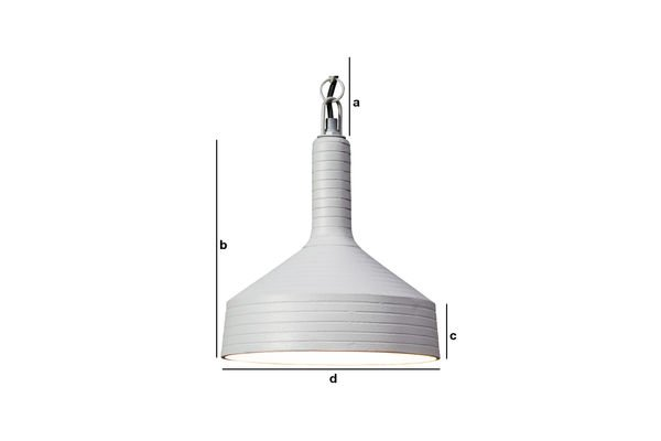 Product Dimensions Nadok Hanging light
