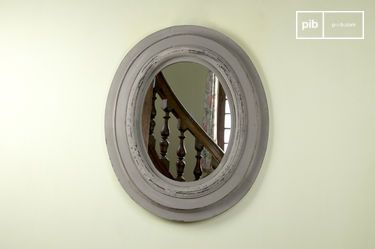 Napoleon wood mirror