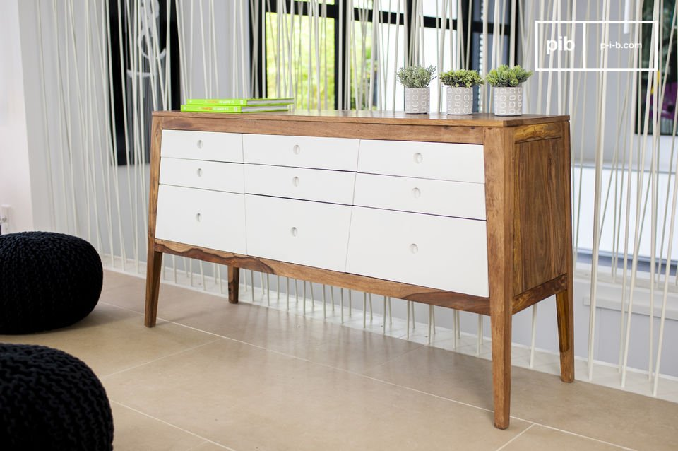 The Naröd chest of drawers offers a wonderful storage solution, while providing an original Nordic decorative touch any room