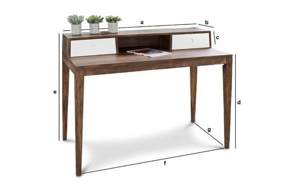 Product Dimensions Naröd Desk
